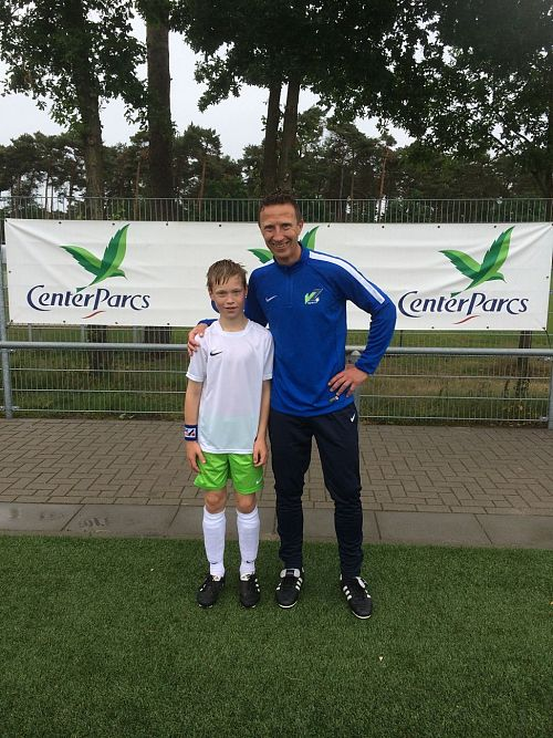 voetbalclinics Center Parcs